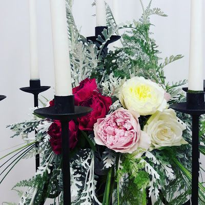 Flowers Papadakis : wedding candles -Λαμπάδες γάμου Flowers Papadakis