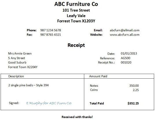 78 images about Forms – Free Printable Receipt Forms