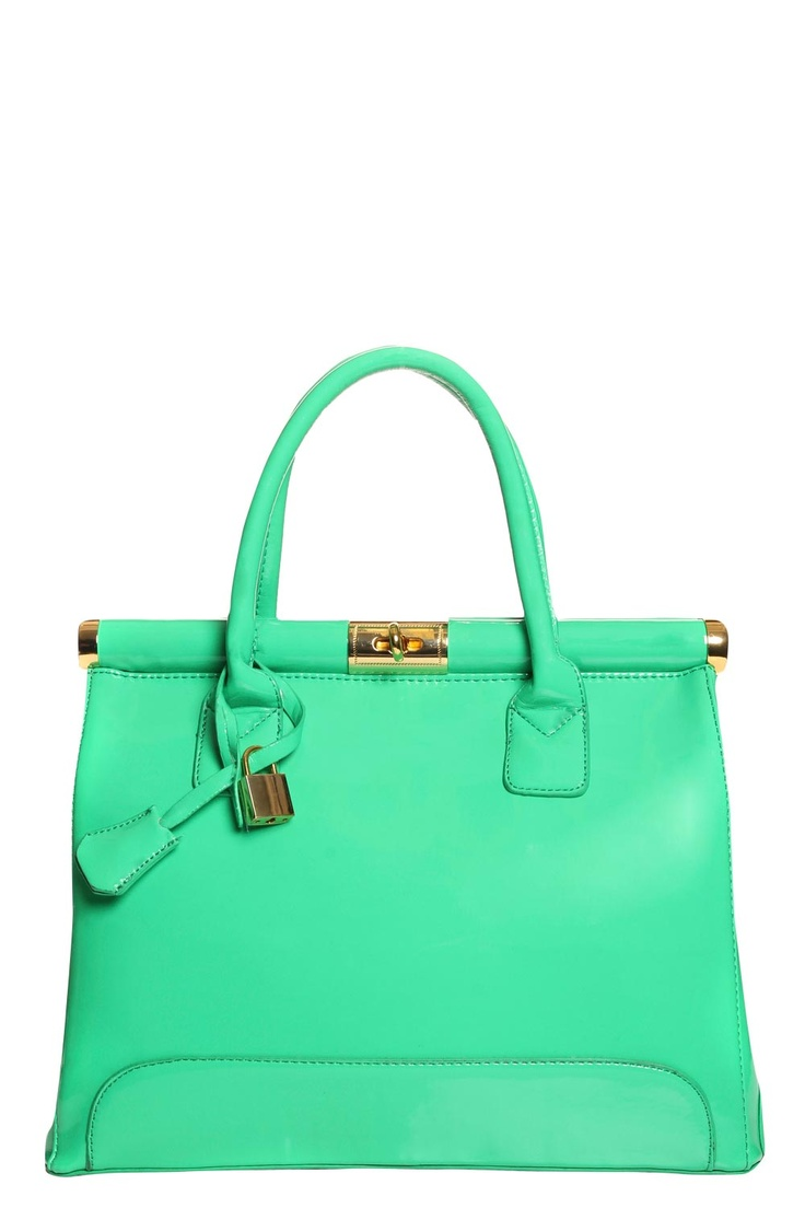 love this color purse for spring