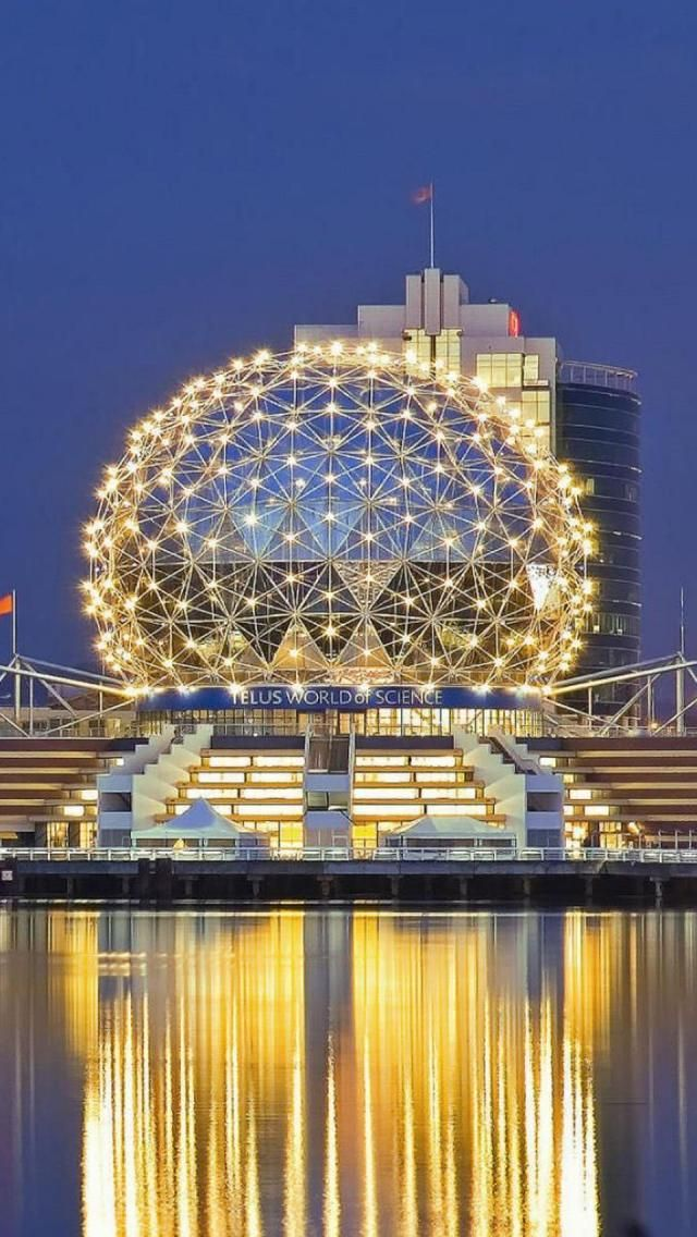 Science Museum, Vancouver, British Columbia, Canada, North America, Geography, Building,