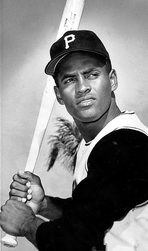 Roberto Clemente, Pittsburgh Pirates - right field -- incredible talent -- we lost him far too early