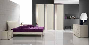 Camera da letto moderna New Unika U22