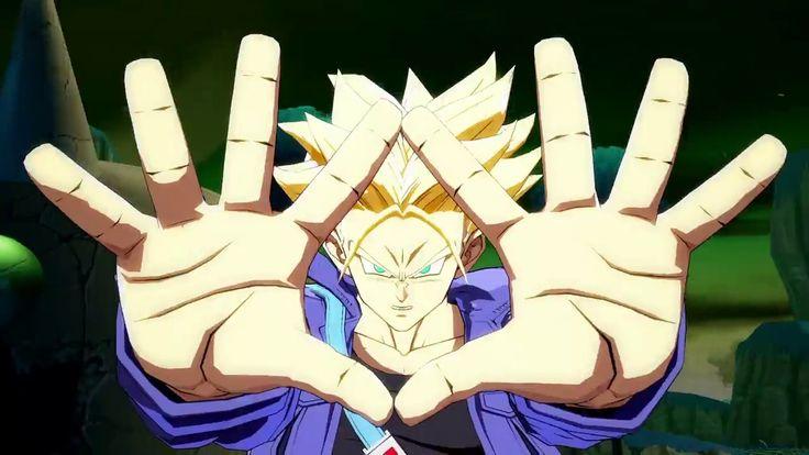 Trunks Entra en Escena en el NUEVO Tráiler de Dragon Ball FighterZ