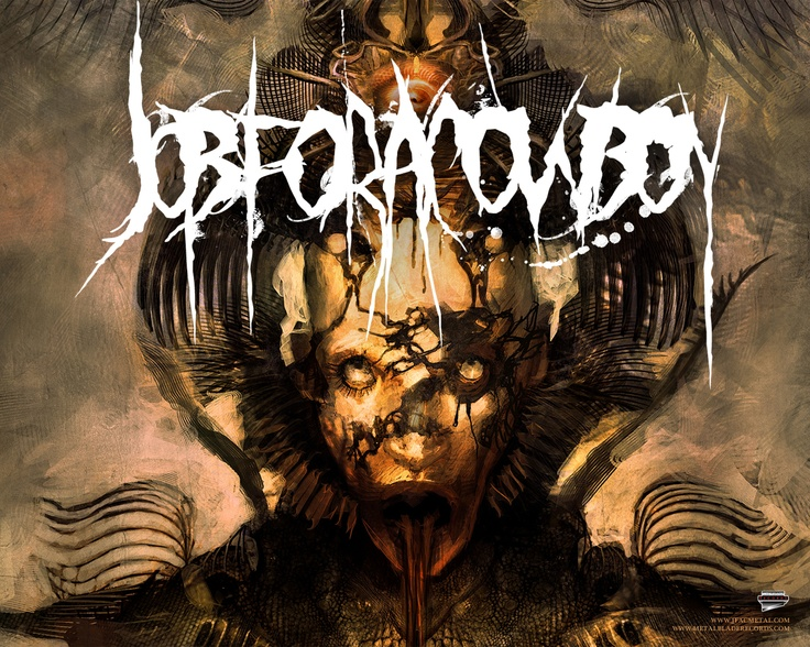 Job for a cowboy is a death deathcore band that has awesome album art by
