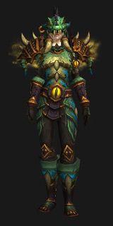 Saurok Stalker Battlegear (Recolor)-Conjunto de Transmog-World of Warcraft