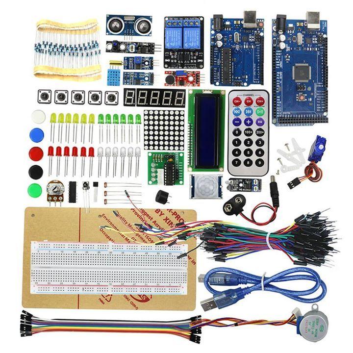 Reprezinti o scoala? Esti profesor de informatica sau fizica?  Avem doua KIT-uri foarte competente pentru elevi.  KIT 45 senzori diferiti fara placa Arduino ➡https://worldofarduino.com/product/45-1-sensors-starter-arduino-kit/ ➡Pret: 128 LEI  KIT LCD, Servo Motor, Releu, Potentiometru, Telecomanda IR, Senzor IR, Breadboard, Calburi Breadboard, etc cu Placa UNO R3 si MEGA 2560 ➡https://worldofarduino.com/product/starter-kit-lcd-servo-motor-relay-starter-kit-arduino-uno-arduino-mega-2560…