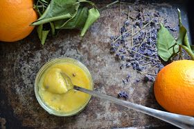 The Recipe Suitcase: Lavendel - Orange Curd mit Orangen aus Valencia