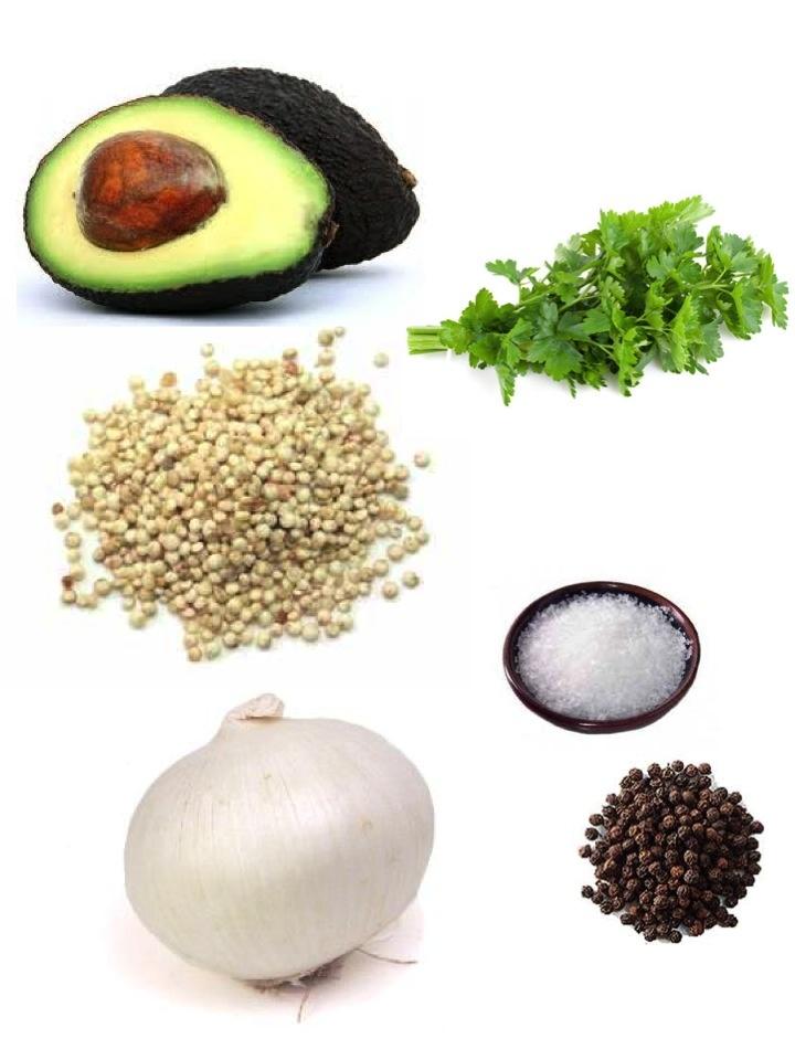 Lemon, Olive, And Parsley Quinoa Cakes Recipe — Dishmaps