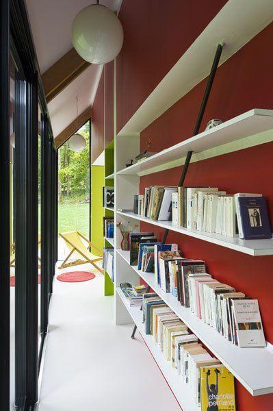 Idee per trasformare il corridoio in libreria