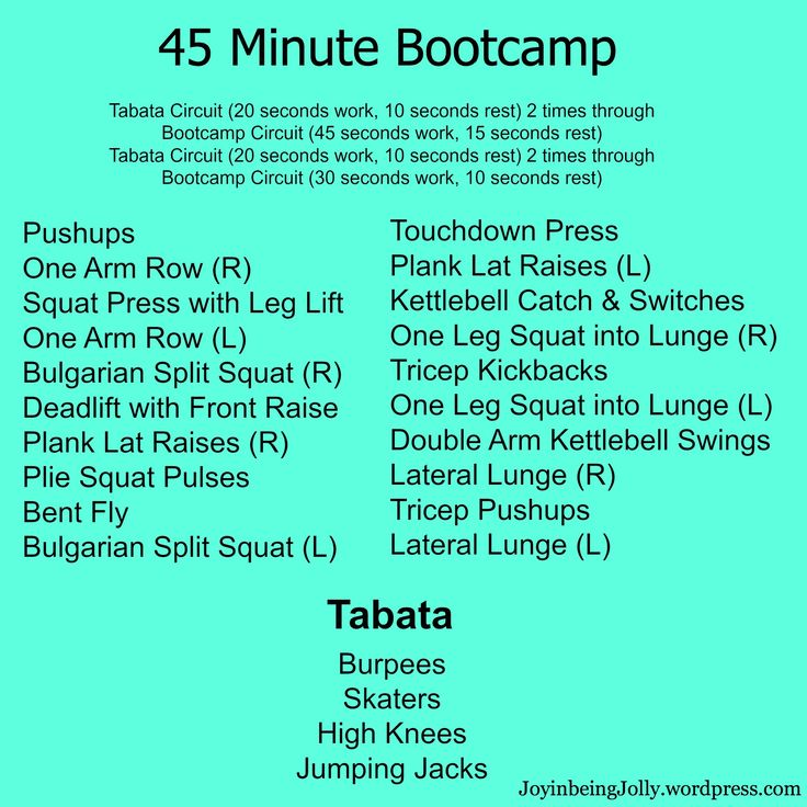 25+ Best Ideas about 45 Minute Workout on Pinterest ...