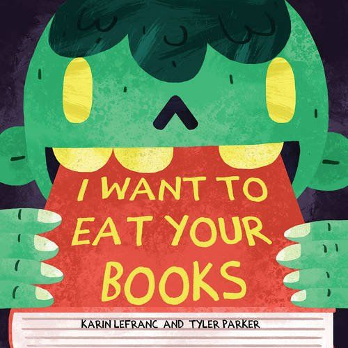 I Want To Eat Your Books is a super fun Halloween book for kids!!