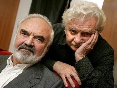 Zdeňek Svěrák a Ladislav Smoljak