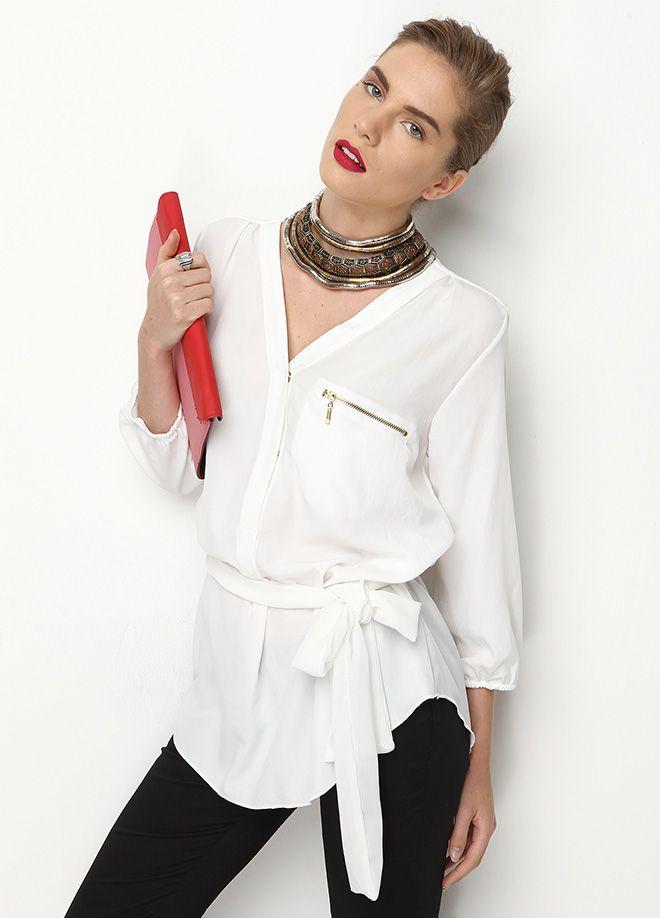Stil Aşkı: Ofiste Neler Moda Gömlek Markafoni'de 83,99 TL yerine 41,99 TL! Satın almak için: http://www.markafoni.com/product/4764368/ #fashion #shopping #fun #alisveris #bestoftheday #model #girl #dress #style #stylish #instafashion #officestyle #office #ofismodasi #markafoni