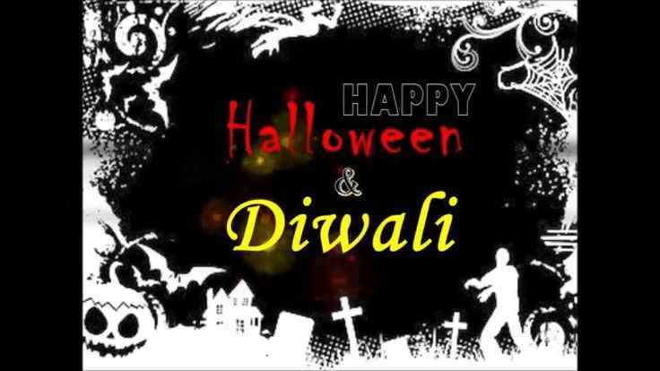 halloween and diwali festival