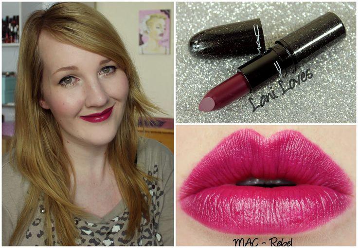 MAC lipstick swatch master post