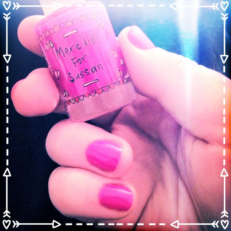 Brightness for a grey day. Meredith for @Susan Mallabar Fashion $2 from each goes to BCNA #nails