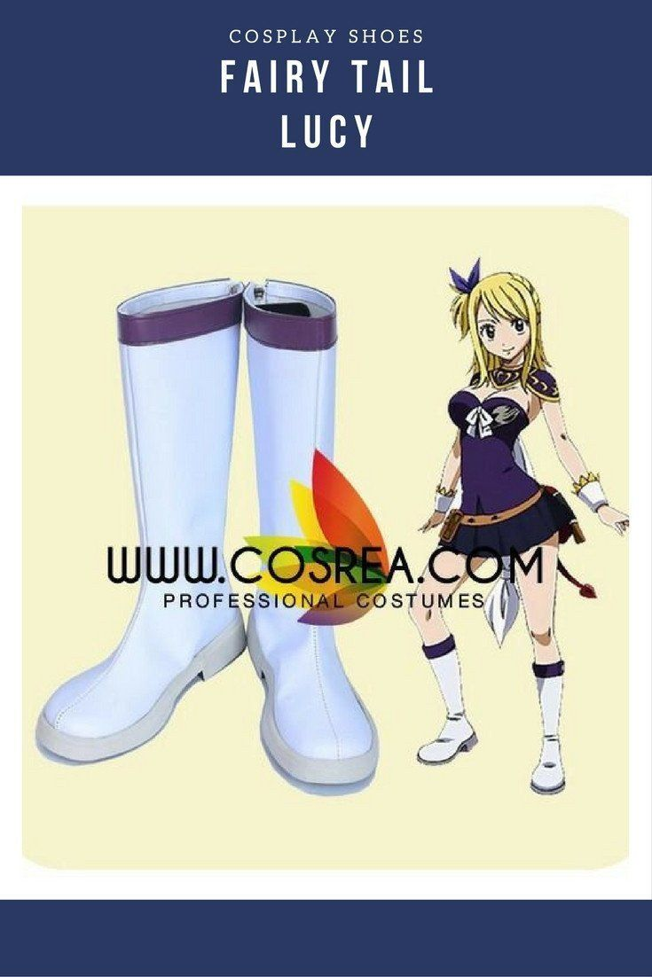 Fairy Tail Lucy Cosplay Shoes