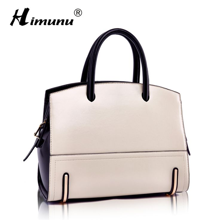Genuine Leather Women Handbags & Crossbody bags Business Panelled Solid Bag bags handbags women famous brands messenger bags-in Top-Handle Bags from Luggage & Bags on Aliexpress.com | Alibaba Group