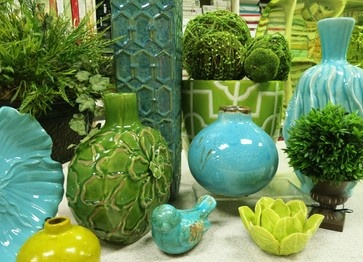In the Store -- Bright ceramics