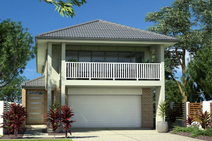 Gj gardner home designs hamilton 280 facade option 2 for Design house architecture hamilton