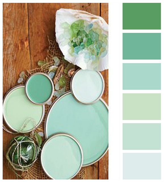 Love these colors for your dorm room, the darker green for your trees the greyer for your boulders :)