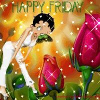 Betty Boop Happy Friday | Betty Boop Friday Pictures, Images & Photos | Photobucket