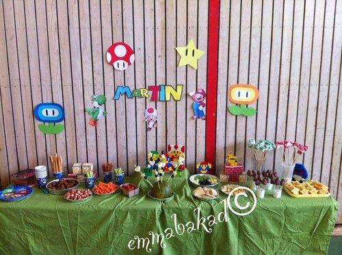Dessert bord Super Mario - emmabakad.blogg.se