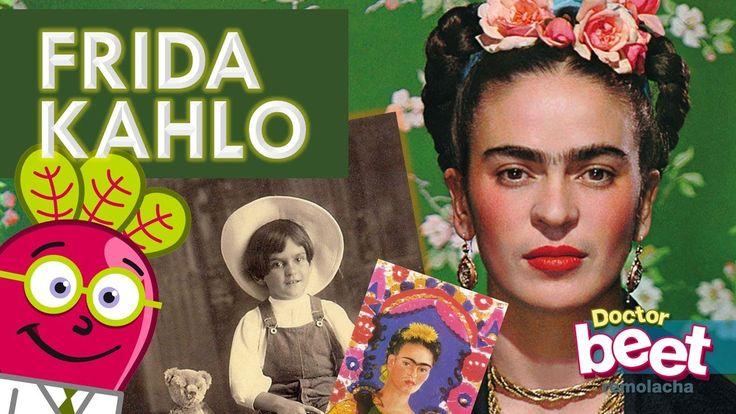 #biografia #para #niños #ninos #primaria #en #español #espanol #frida #kahlo #biografias #cortas #de #artistas #historia #mujeres