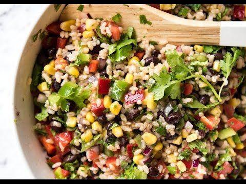 Cowboy Rice Salad | RecipeTin Eats