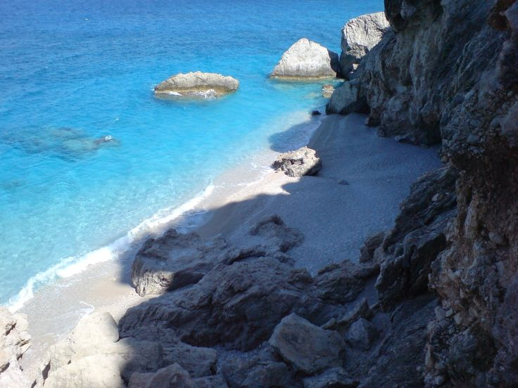 Secret beach near Kira Panaghia Photo from Kyra Panagia in Karpathos | Greece.com