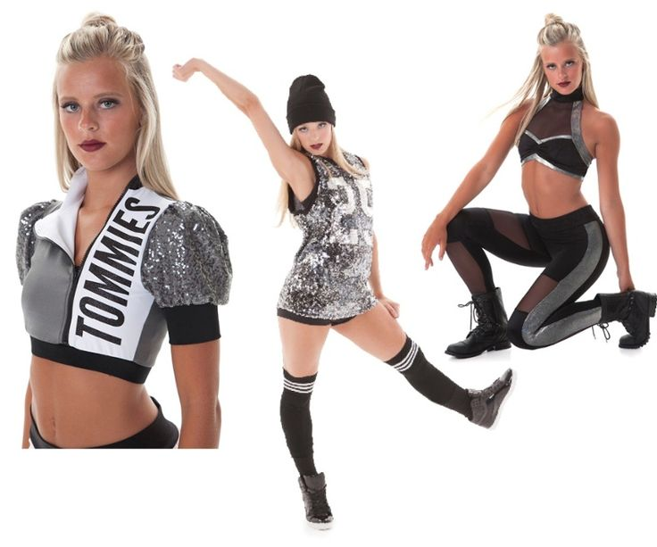 Top Hip Hop dance costume trends - sports luxe