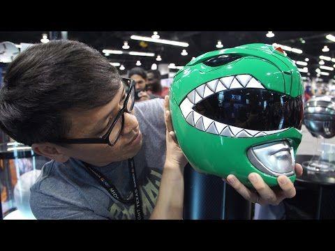 Original Power Rangers Helmet Prop! - http://eleccafe.com/2017/04/05/original-power-rangers-helmet-prop/