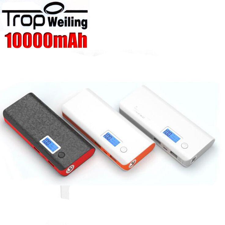 Tropweiling pau banque 10000 mah portable téléphone chargeur de batterie poverbank mi puissance banque pour Tous Les phones6 batterie externe