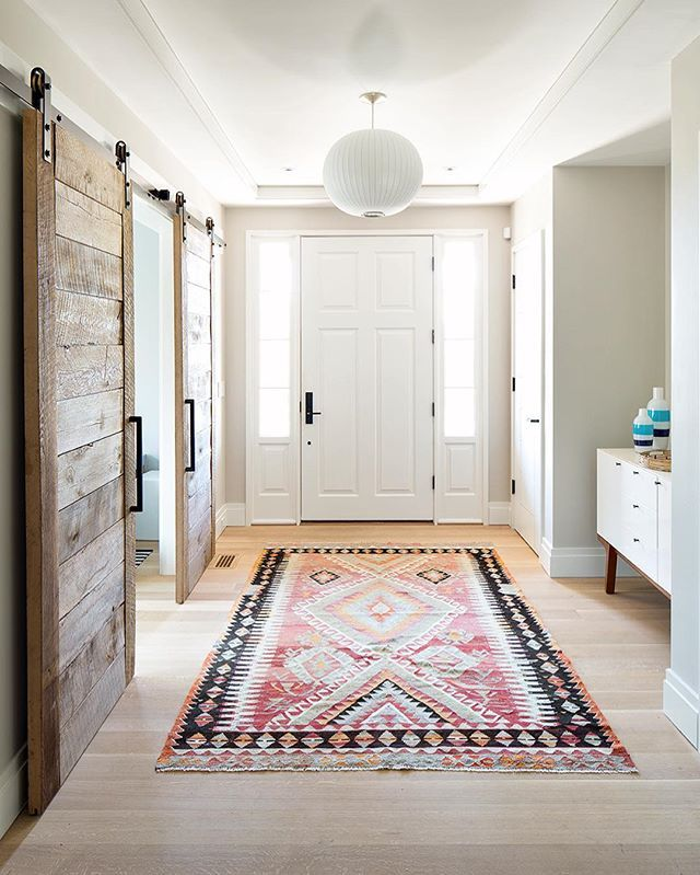 Nothing says 'Welcome Home' like an awesome entry and this is one of our favorites to date!