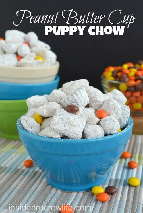 Peanut Butter Cup Puppy Chow | 21 Fun And Easy Treats You Can Make With Cereal