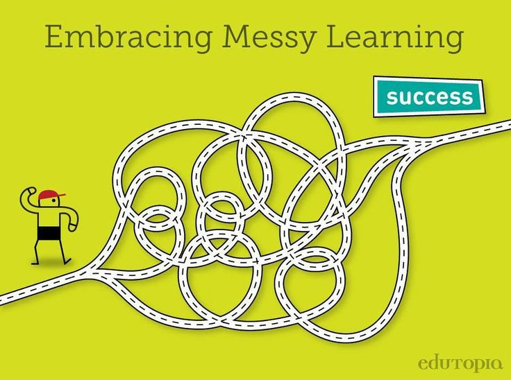 """Tips for accepting & making the most out of """"messy days""""."""