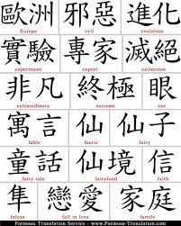 Картинки по запросу японские иероглифы и их значение