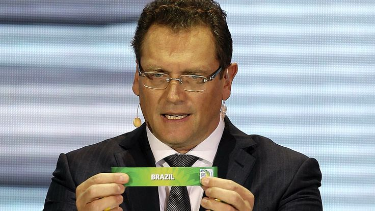 Brasil é escolhido como o pais da Copa