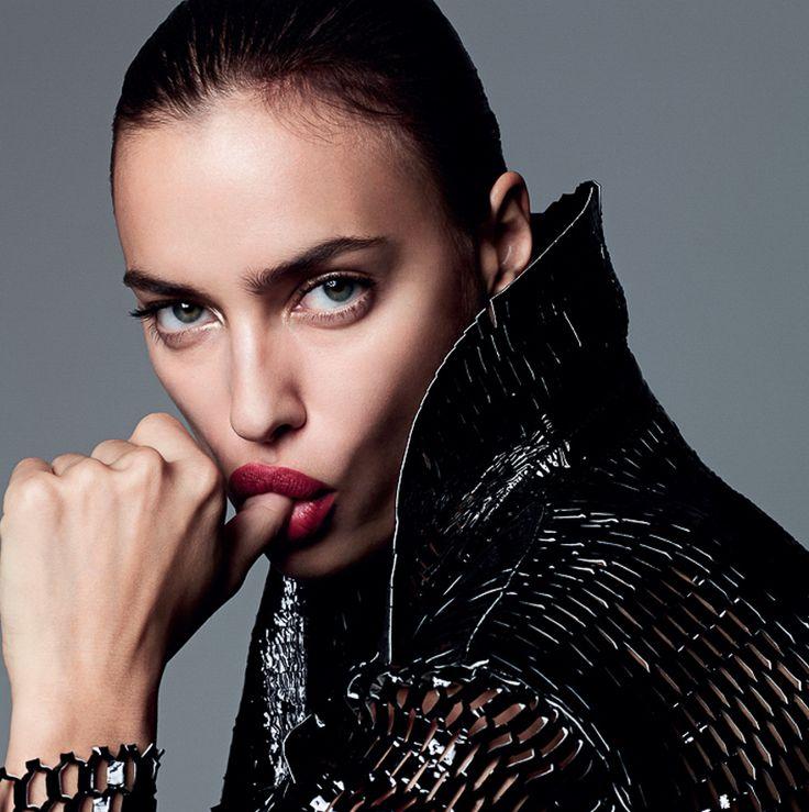 Harper's Bazaar Spain December 2015 Irina Shayk by Nagi Sakai