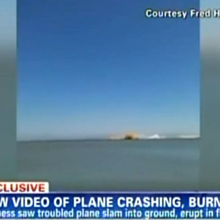 The first video of Saturday's tragic crash landing of Asiana Airlines Flight 214 in which two people died has surfaced.