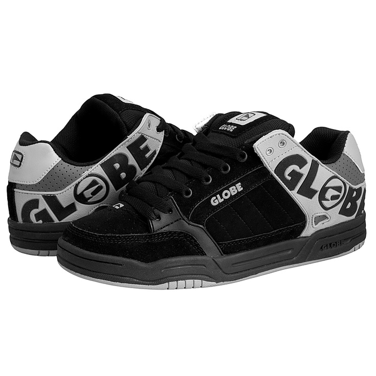Globe Skate Shoes | Globe Tilt Skate Shoes Black/Grey