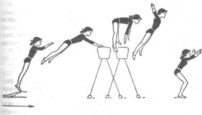Девочки, зря вы в школе физкультуру прогуливали. Там учили через козлов перепрыгивать...