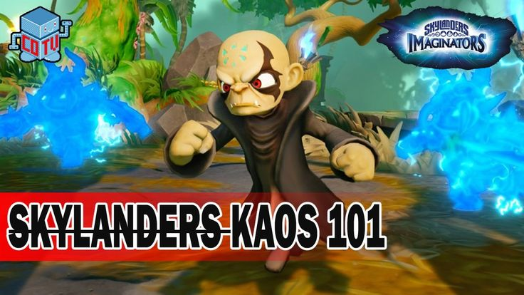 Skylanders 101 KAOS