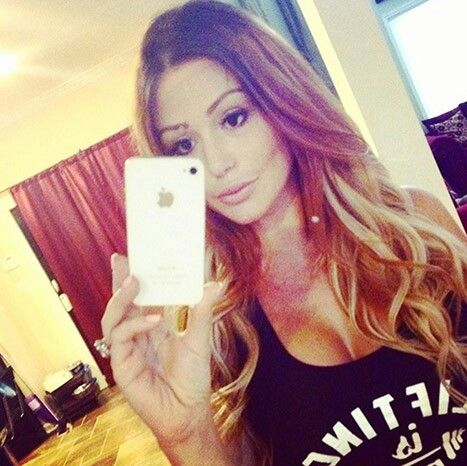 Love JWoww new look! #blonde