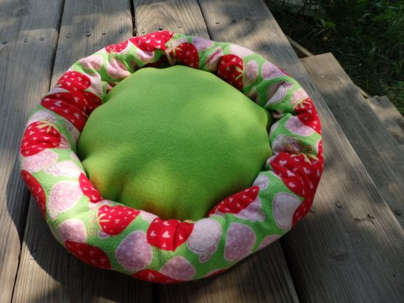 Pet Bed Cuddle Bed Kitty bed Cuddle Sack Cat Cuddle Sack by SewCat