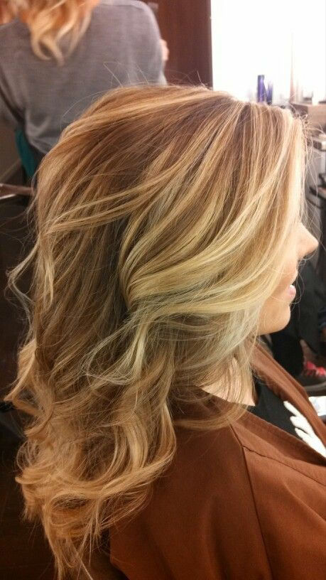how to get from really blonde highlights to balayage