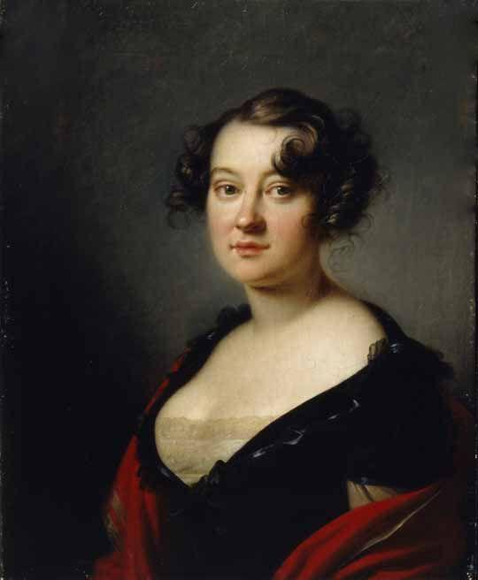 Орест Адамович Кипренский - Елена Михайловна Голицына (1776-1855)