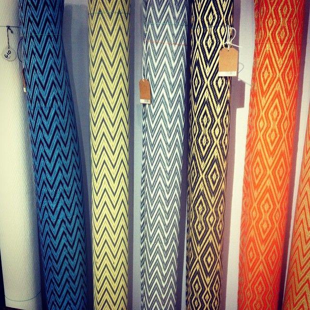 African plastic rug Maison&Objet Paris http://instagram.com/milhdiy