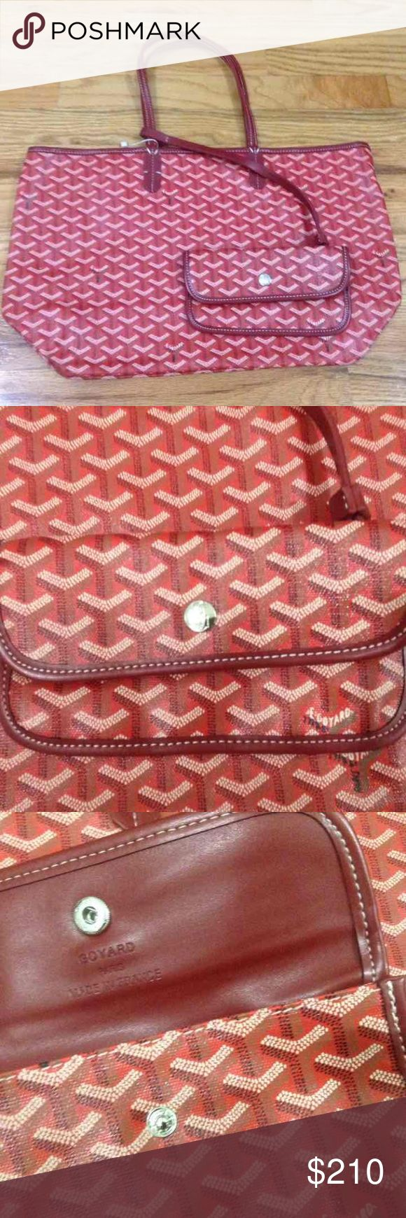GOYARD premium Tote bag Brand new- with tags and wallet attached- *price reflects auth* Goyard Bags Totes