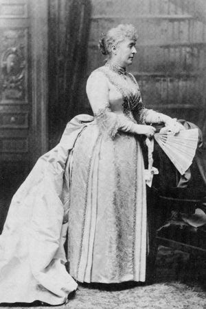First Lady Caroline Harrison. Photo courtesy President Benjamin Harrison Home